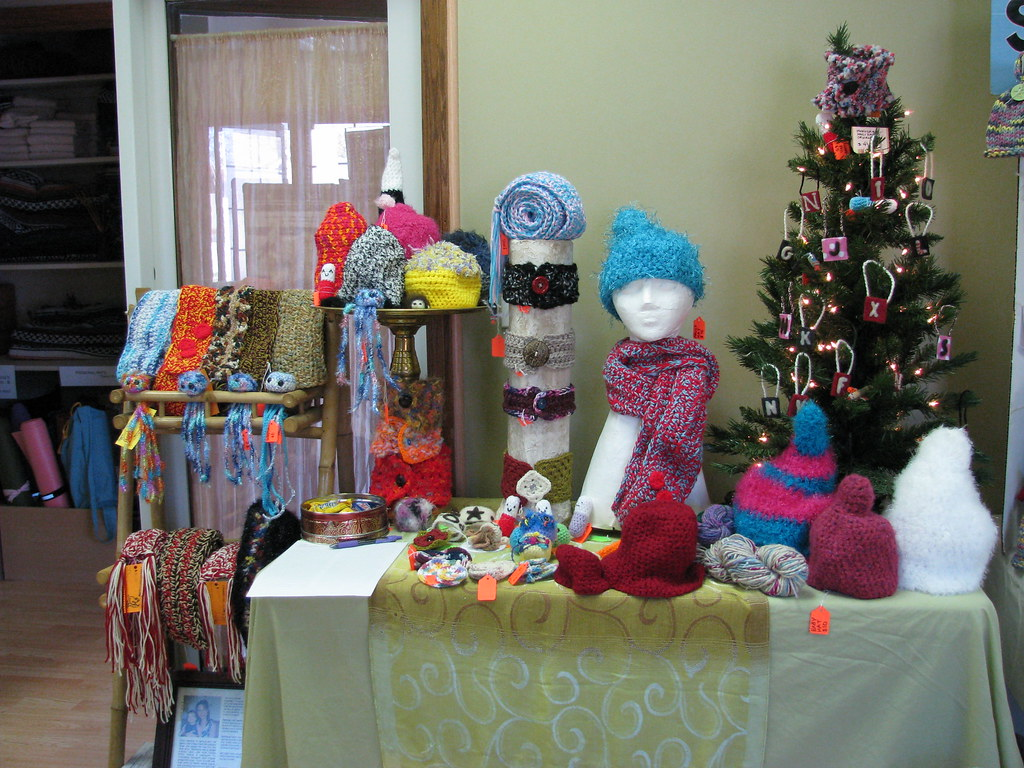 Crochet Craft Fair Ornaments