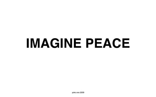 Yoko Ono: IMAGINE PEACE | by Yoko Ono official