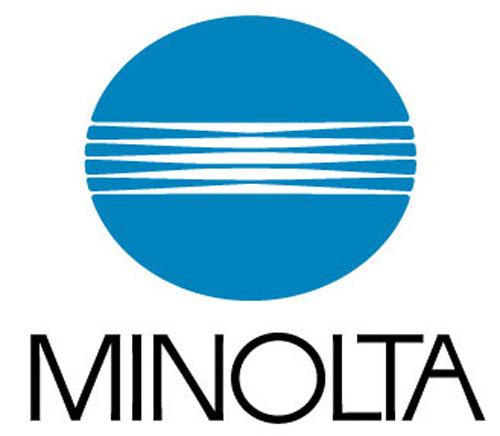 Minolta logo   Logo Minolta. Saul Bass 1978   cedric