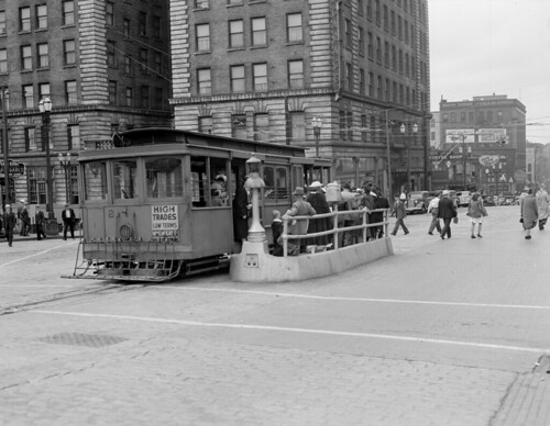 Cable Car At Third And Yesler 1940 Photo Was Taken On