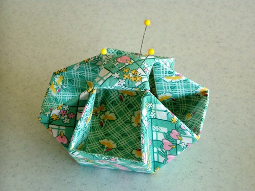 2007-4-15 suspended pincushion | by Beverly's Fabrics