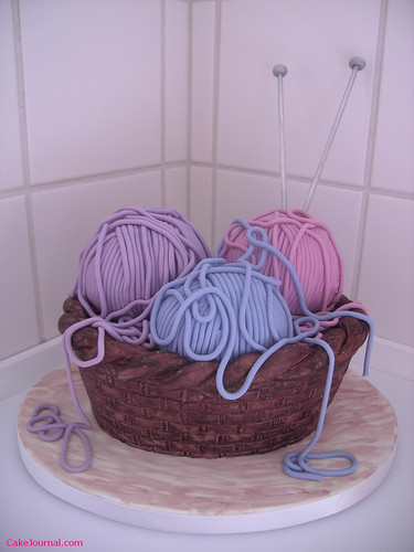 Knitting Cake | by Dacia Ray