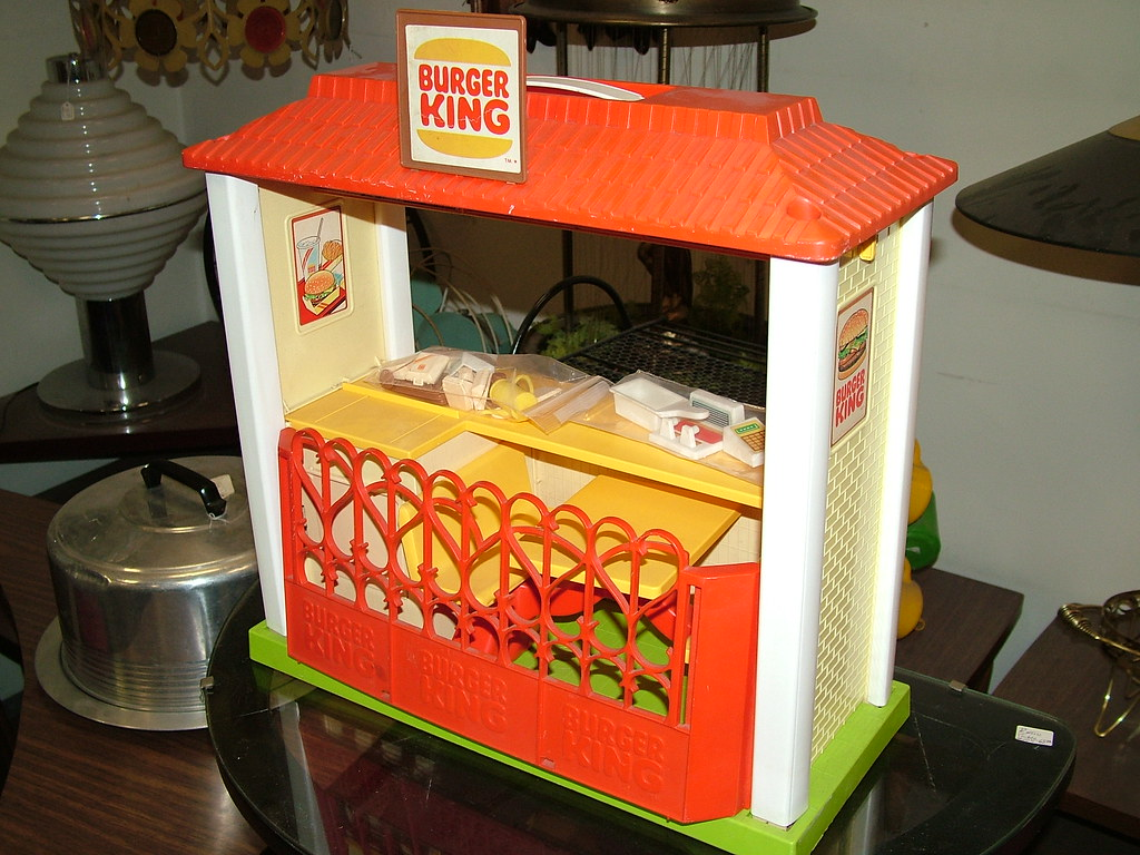 Create 3d Floor Plan Burger King Playset I Saw This In An Antique Store This