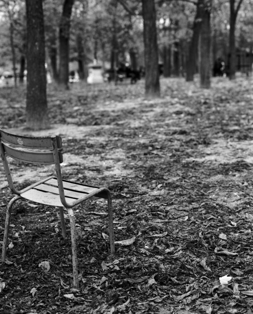 Chaise vide jardin du luxembourg flickr photo sharing - Chaise jardin du luxembourg ...