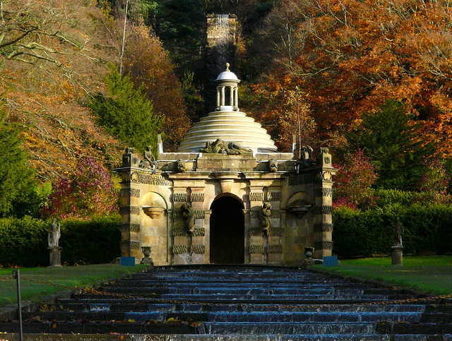 Chatsworth House Gardens The Grand Cascade Kev747 Flickr