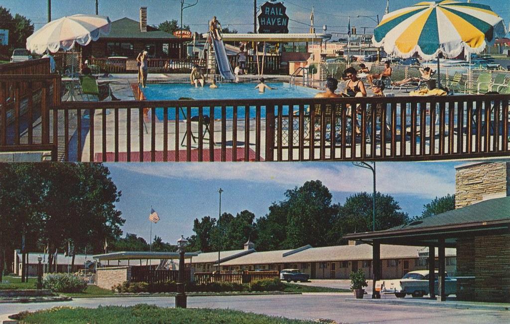 rail haven motel springfield missouri rail haven. Black Bedroom Furniture Sets. Home Design Ideas