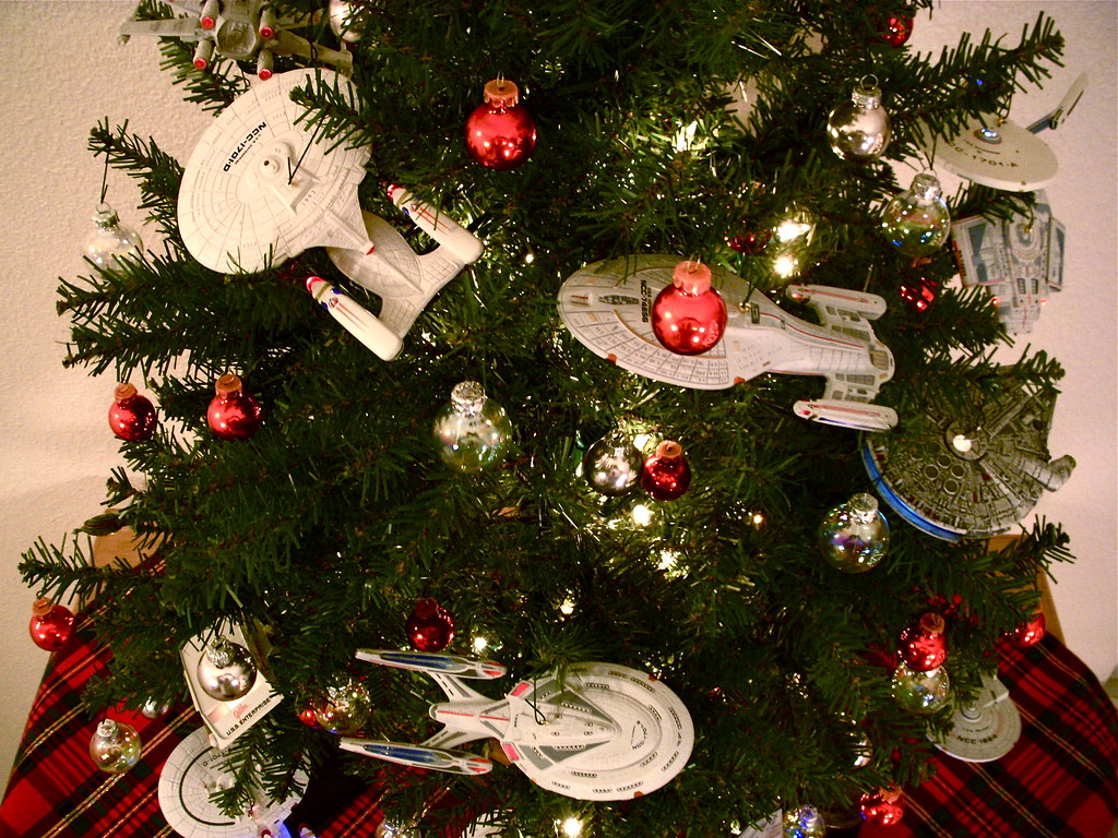 Starship Christmas Tree 6