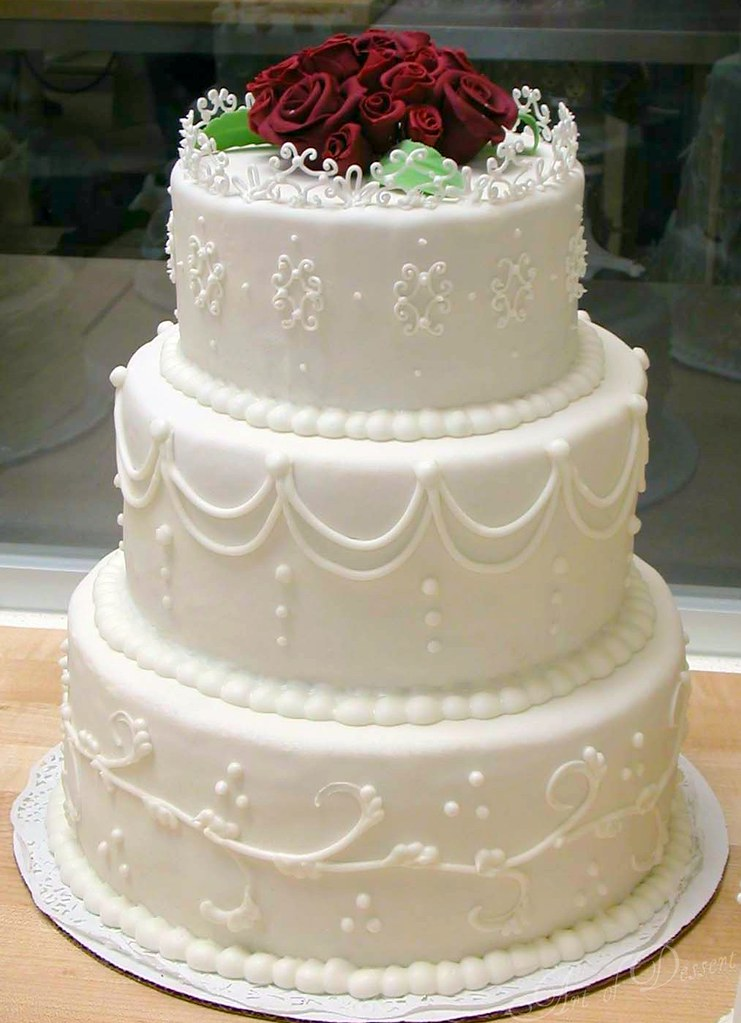 wedding cake class fondant my first fondant covered cake flickr. Black Bedroom Furniture Sets. Home Design Ideas