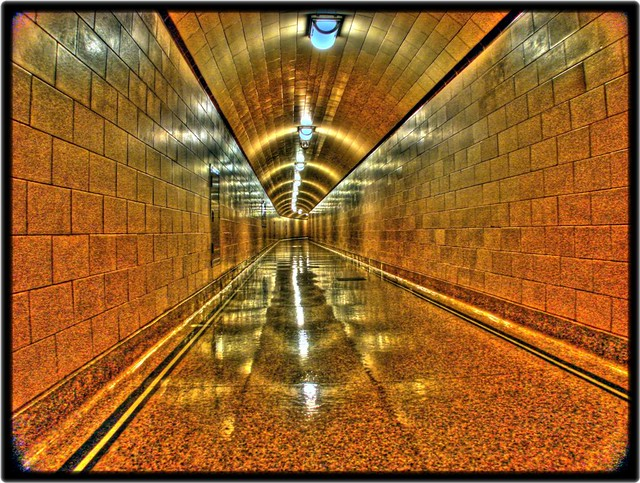 Inside The Dam Ventilation Tunnels – Desenhos Para Colorir