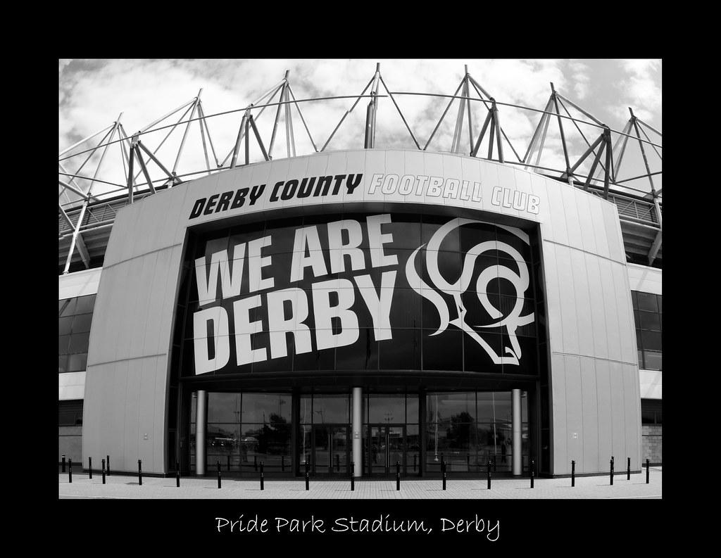 Pride Park Stadium (June 2008 #4) - WE ARE DERBY!