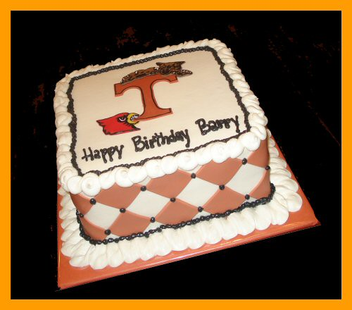 Birthday Cake For Barry Who Is