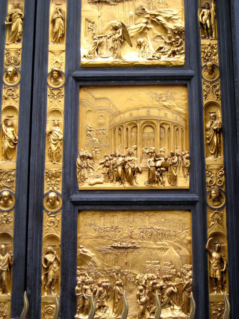 Florence, Italy   Golden doors of the Baptistry   Nathan ...