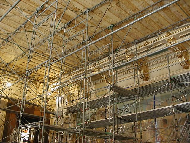 Capitol Building Scaffolding : Photo