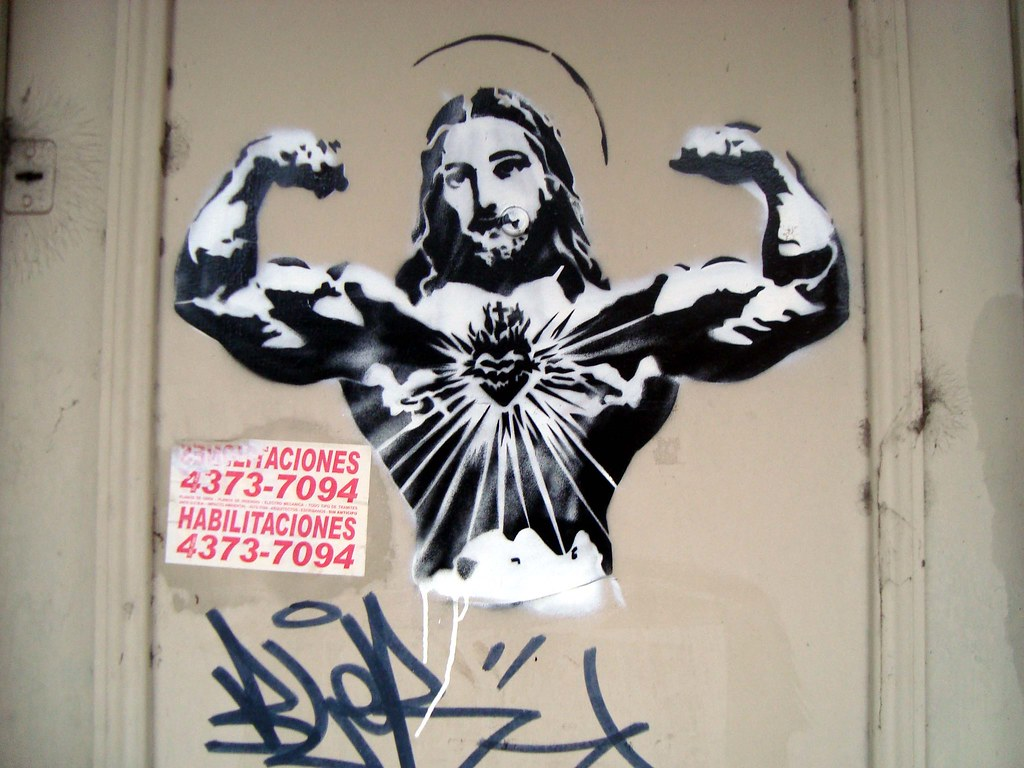urban art stencil wall - photo #9