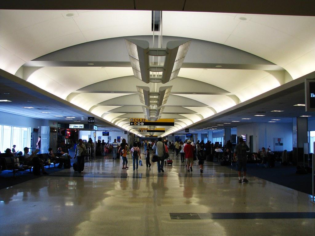 Terminal C George Bush International Airport Houston Tex