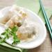 Steamed shrimp & pork raviolis