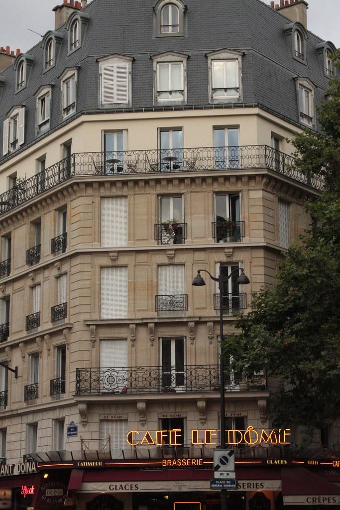 Cafe Le Dome Paris Menu