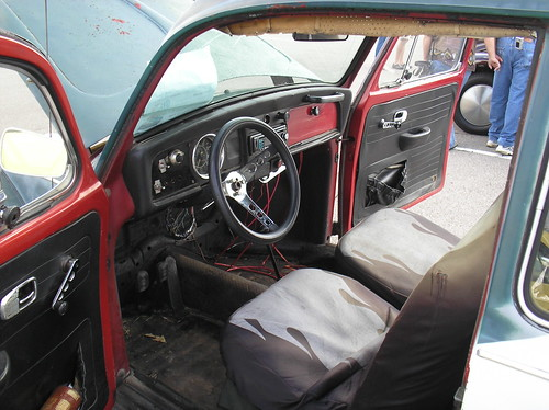 "1969 Volkswagen Beetle, ""Baja Bug"", interior | Flickr - Photo Sharing!"
