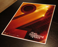 2 Smashing Years poster | by James Whíte
