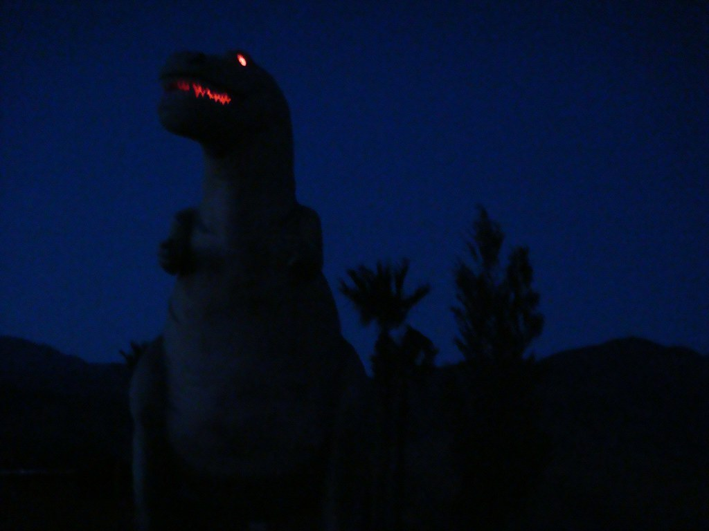 Dinos in the dark