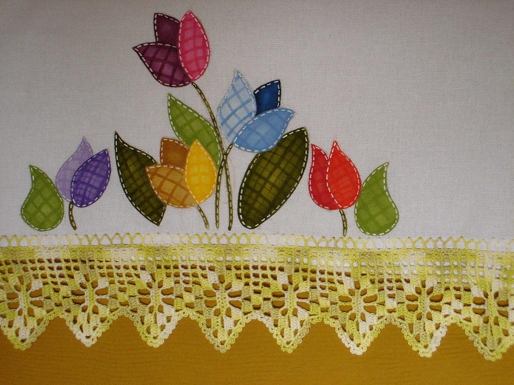 pintura patchwork em tecido marguitta flickr. Black Bedroom Furniture Sets. Home Design Ideas