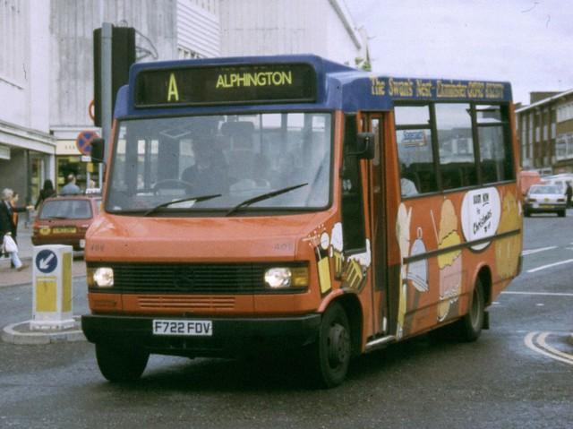 Stagecoach devon 409 f722 fdv mercedes benz 709d reeve for Devon mercedes benz