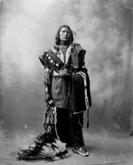 Thomas American Horse, Oglala Sioux, by Heyn Photo, 1899