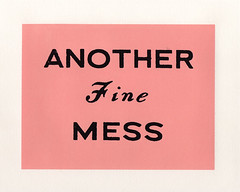 another fine mess | by linocutboy