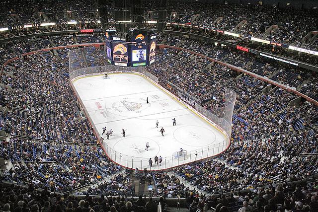 Buffalo Sabres First Niagara Center Hsbc Arena Flickr