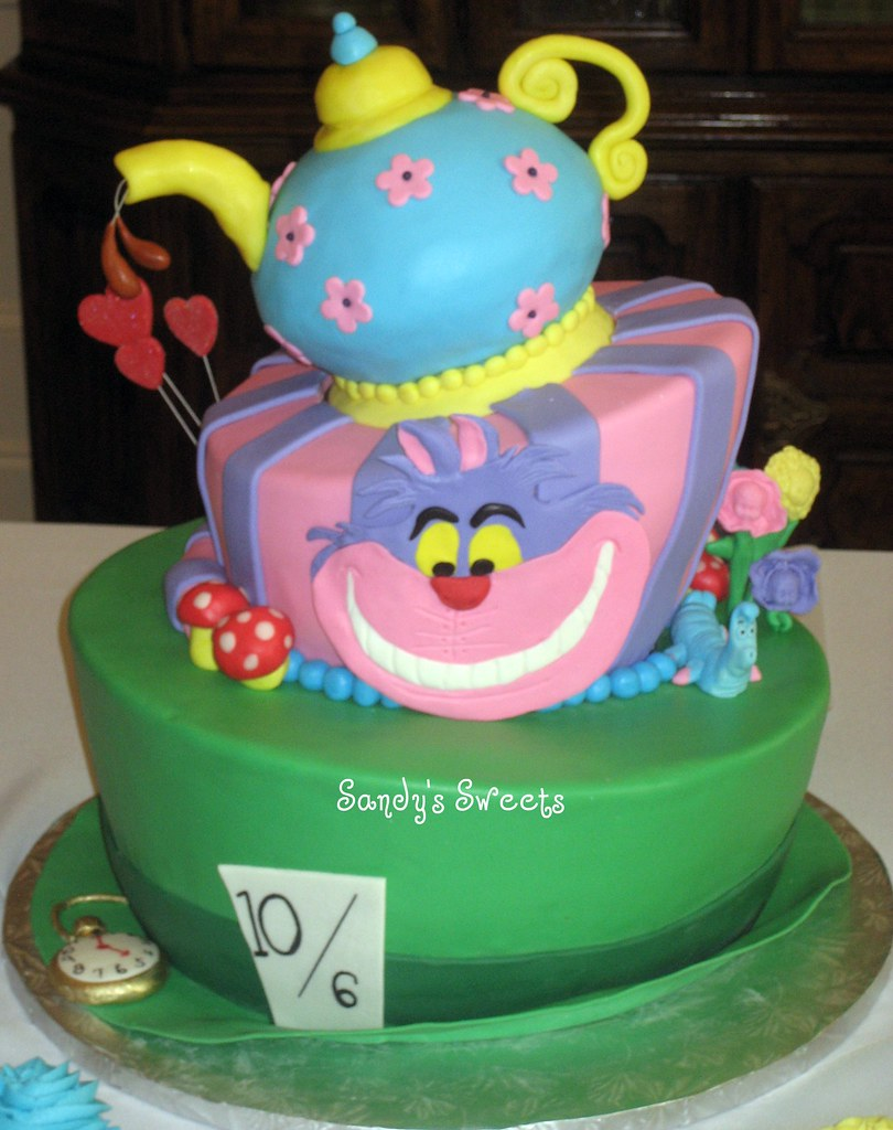 Images Mad Hatter Cake