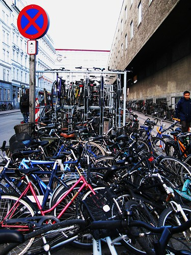 Bike Racks and Wrecks | by Mikael Colville-Andersen
