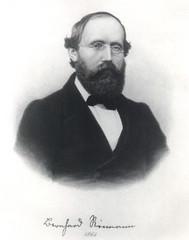 Portrait of Bernhard Riemann (1826-1866), Mathematician