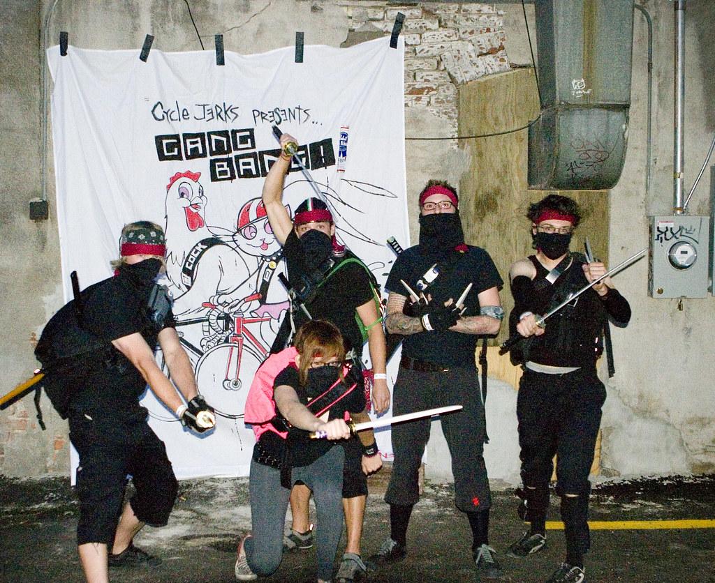 Cross dressed gang bang-6344