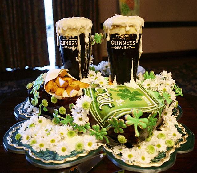 Irish Cake Decorations