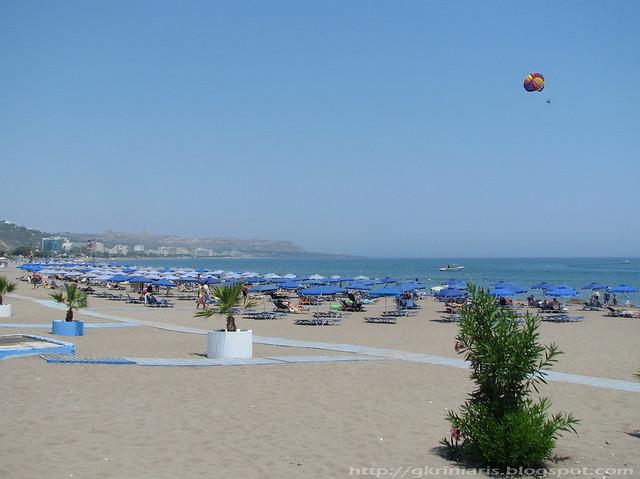 Faliraki Beach By Gkriniaris Faliraki Beach By Gkriniaris