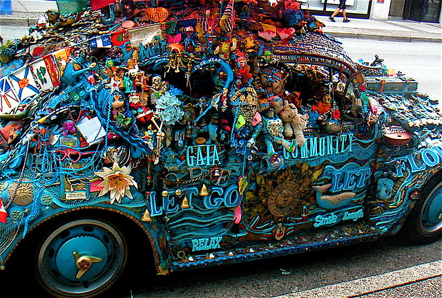 Dirty hippie car bess grant flickr