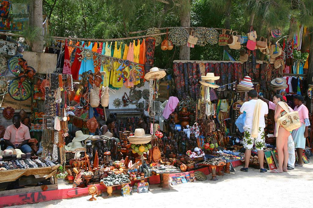 artisan market labadee labadee haiti caribbean