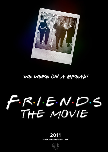 Friends Movie Poster Mock Up