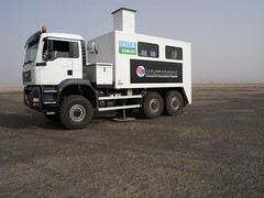 EUMSOC Truck in the Field | by Alaa Esmaiel
