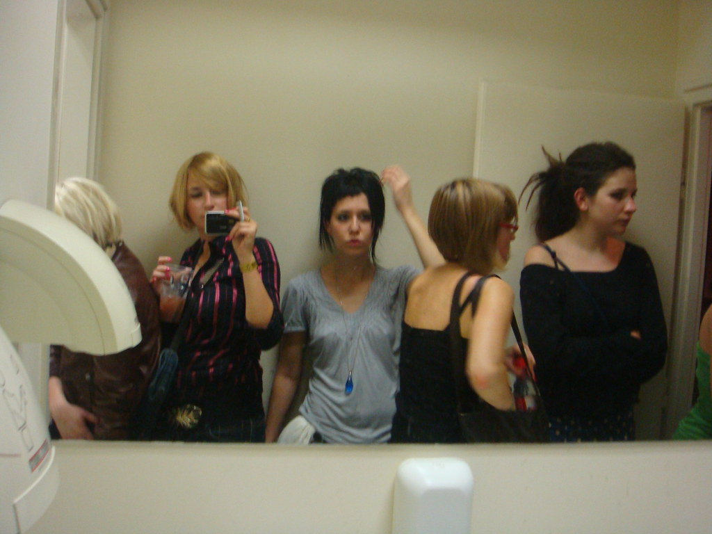 Secret peep into girls bathroom anja shestakova flickr for Bathroom models photos