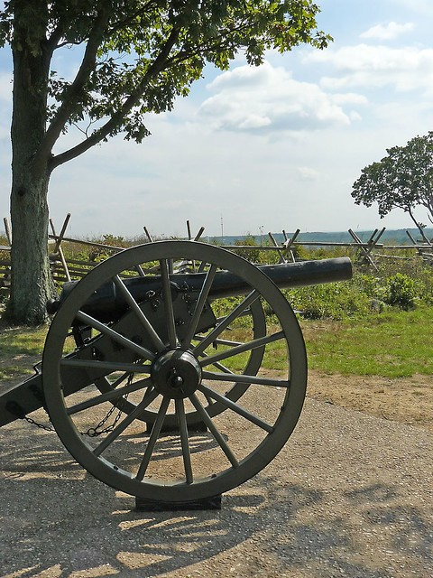 Gettysburg Military Park commemorates a battle that was the turning