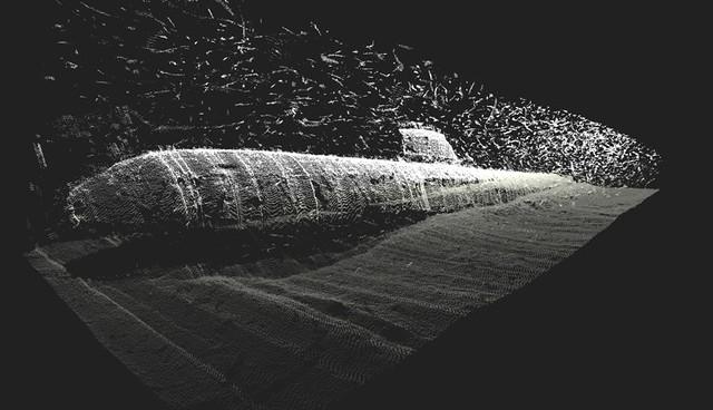 Multibeam Image Of The Russian Submarine B 159 Sunk In 250