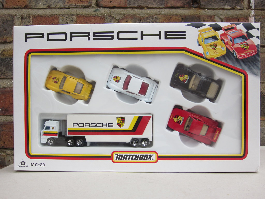 Matchbox Superfast Porsche Gift Set 1980 S Matchbox