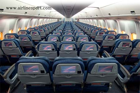 Aeroflot Boeing 767 300 Seats Aeroflot Boeing 767 300 Seat Flickr
