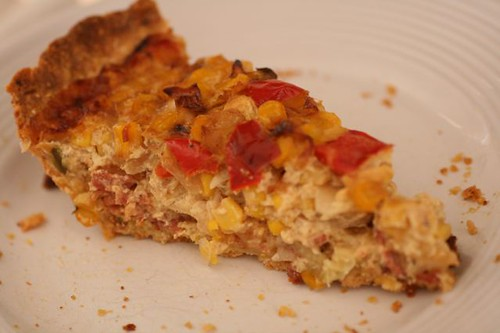 Corn and Bacon Pie with a Whole Grain Cornmeal Crust | Flickr