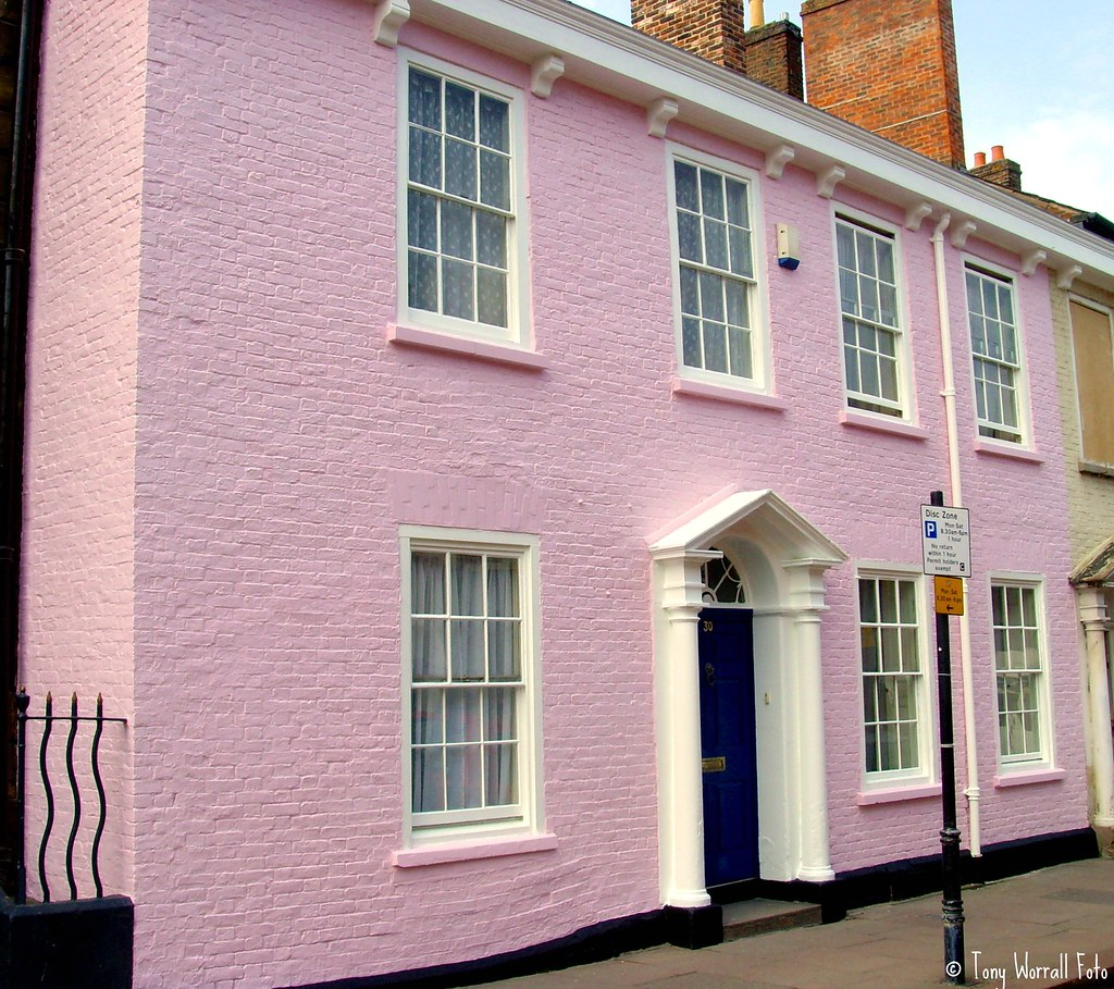 The pink house in carlisle tony worrall photography flickr for The carlisle house