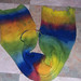 Rainbow Sock Blank