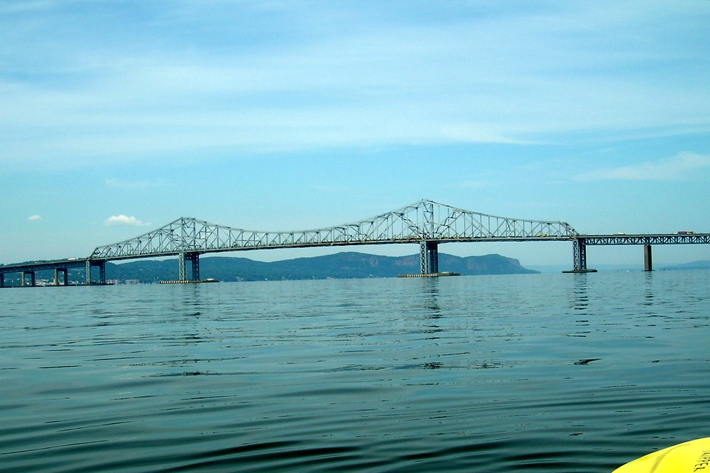 Tappan Zee Bridge Over Hudson River New York Name The