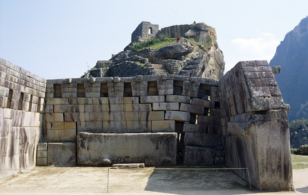 Temple Of The Sun Temple Of The Sun Machu Picchu Inca
