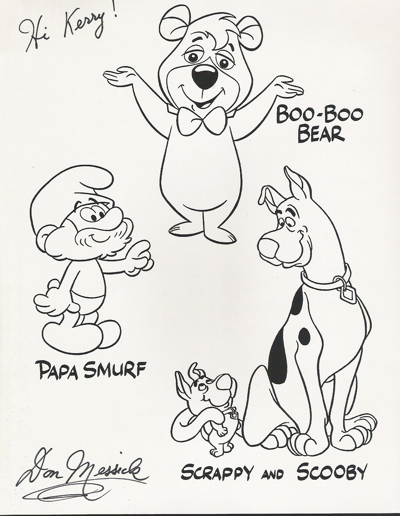 scrappy doo coloring pages - photo#12